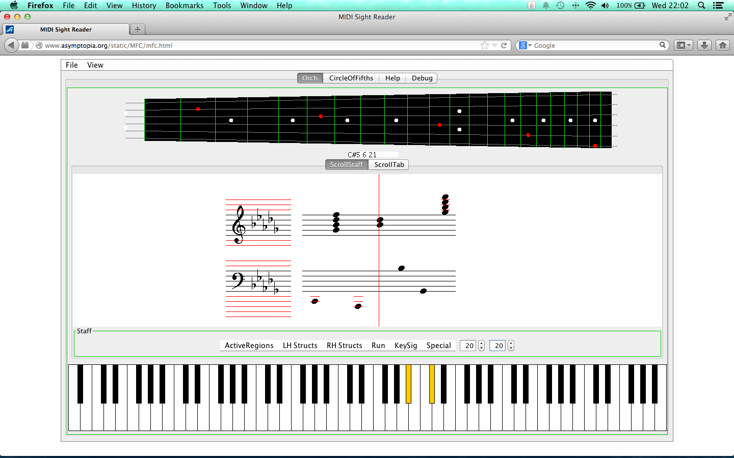 Java MIDI Sight Reading Trainer